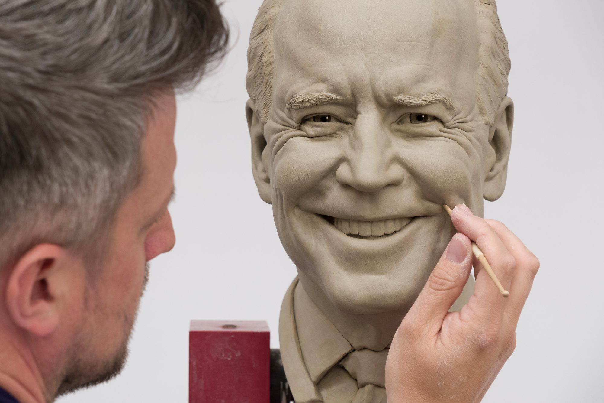 Preisdent Joe Biden Madame Tussaud's Wax Figure