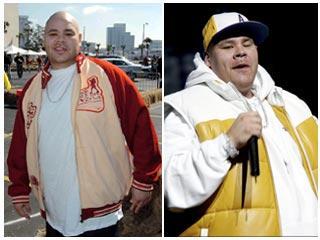El ahora (izquierda) y ayer de Fat Joe