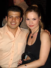 Andrés Puentes Jr. y Ana Patricia Rojo