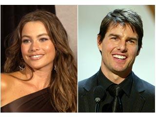 Sofía Vergara y Tom Cruise