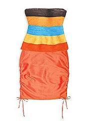 Conjunto de top a rayas y falda entubada de Rosita & Di Sarno