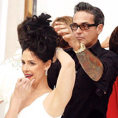 Oribe, el único hombre que le toca el pelo a Jennifer López, se encargó de dejar perfecta a Sonia Braga y otras de nuestras bellas.