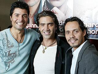Chayanne, Alejandro Fernández y Marc Anthony