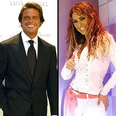 Luis Miguel y Aracely