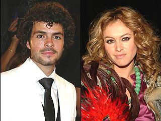 José María Torre y Paulina Rubio