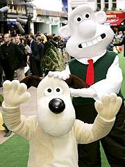 Gromit & Wallace (der.)