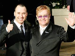 David Furnish y Elton John