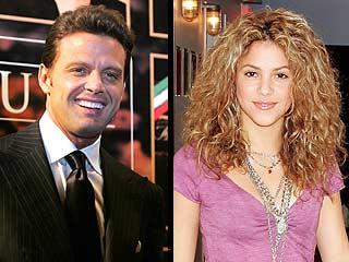 Lus Miguel y Shakira