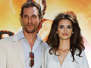 Matthew McConaughey y Penélope Cruz