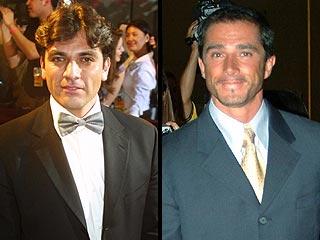Jorge Salinas y Sergio Mayer (der.)