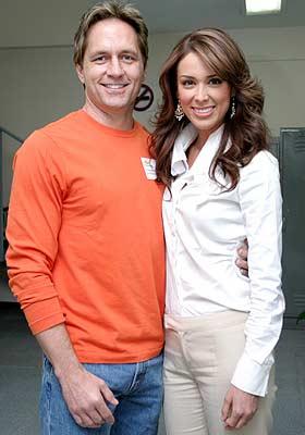 Guy Ecker y Jacqueline Bracamontes
