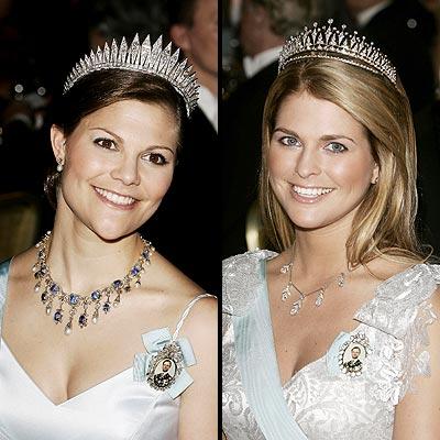 Victoria y Magdalena de Suecia