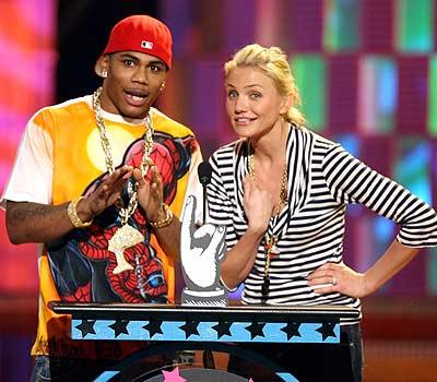 Nelly y Cameron Díaz