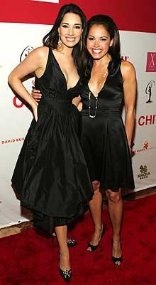 Amelia Vega y Susie Castillo