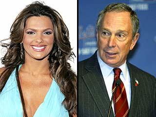 Bárbara Bermudo y Michael R. Bloomberg