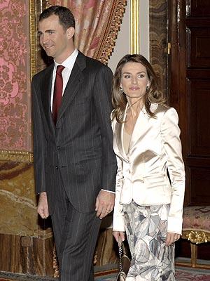Príncipes de Asturias, princesa leticia, príncipe Felipe