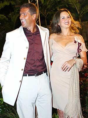 Héctor Soberón y Michelle Vieth