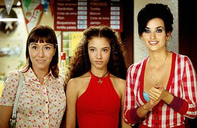 Lola Dueñas, Yohana Cobo y Penélope Cruz