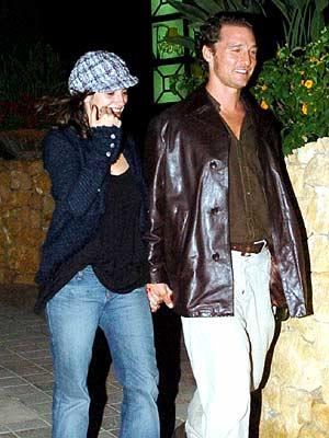 Penélope Cruz y Matthew McConaughey