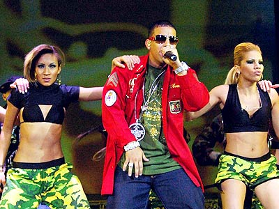 Daddy Yankee en concierto en México