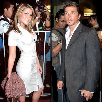 Adriana Fonseca y Sergio Mayer
