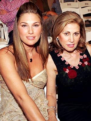 Daisy Fuentes y su mamá