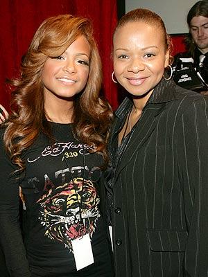 Christina Milián y su mamá