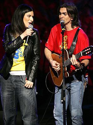 Laura Pausini y Juanes