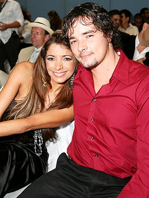 Pilar Montenegro y su novio, Antón Fajardo