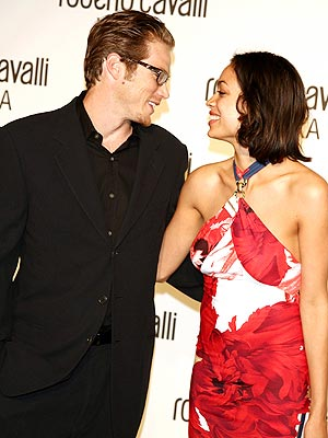 Rosario Dawson y su novio
