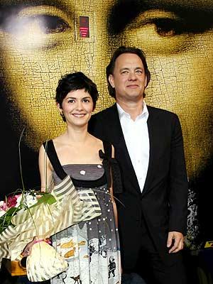 Audrey Tatou y Tom Hanks