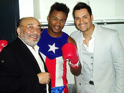 Eddie Palmieri, Tito Trinidad, Victor Manuelle