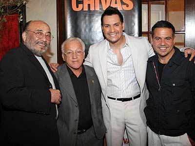 Eddie Palmieri, Víctor Manuelle y Narciso Rodríguez