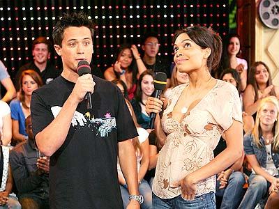 Rosario Dawson en TRL