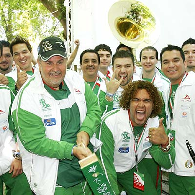 Gordo de Molina y Banda El Recodo en Alemania.