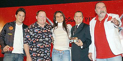 Kuno Becker, Cesar Bono, Kate del Castillo y Pedro Armendariz Jr.