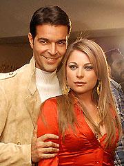 Pablo Montero y Ludwika Paleta