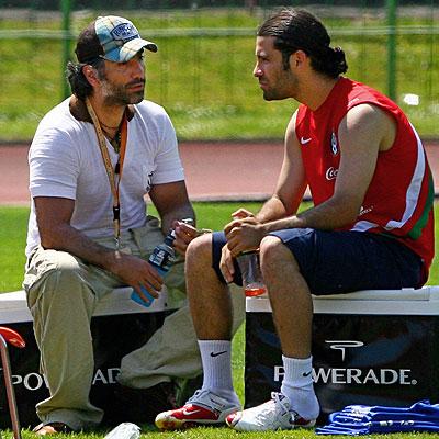 Alejandro Fernandez y Rafael Marquez