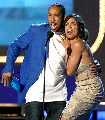 Ludacris y Rosario Dawson