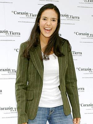 Catalina Sandino Moreno en Madrid.