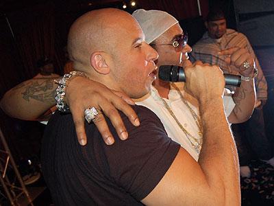 Vin Diesel y Don Omar