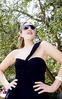 Drew Barrymore en París.