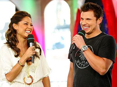 Vanessa Minillo y Nick Lachey