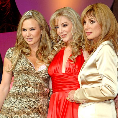 Michelle Vieth, Edith González y Elena Rojo
