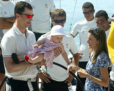 Principes de asturias e infanta Leonor