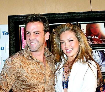 Carlos Ponce y Thalía