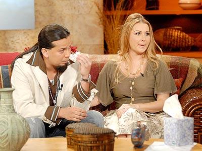 Cruz Martínez y Alicia Villarreal.