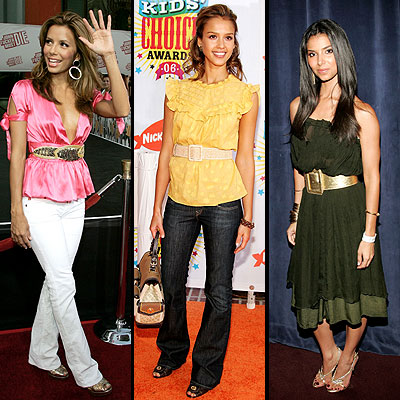 Eva Longoria, Jessica Alba y Roselyn Sanchez