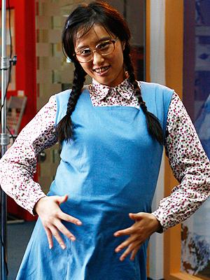 """Ella interpreta a """"la fea más bella"""" de China"""