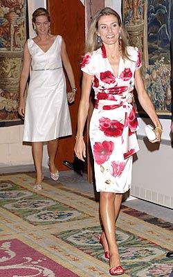 La princesa Letizia y la infanta Cristina despidieron el verano en Mallorca.